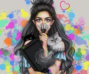 art, girly_m, and drawing image