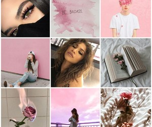 pink, rose, and troye sivan image