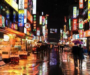 seoul, korea, and night image