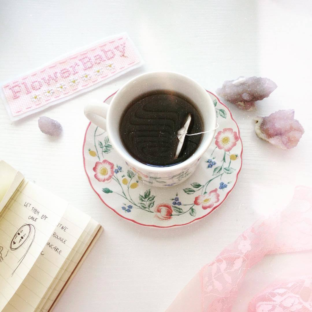 aesthetic, dainty, and pink image