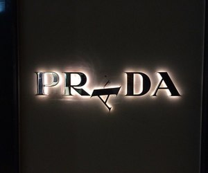 Prada, light, and black image