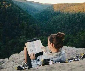 read, travel, and trip image