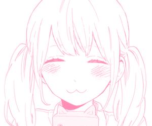 manga, girl, and kawaii image