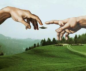 alien, art, and michelangelo image