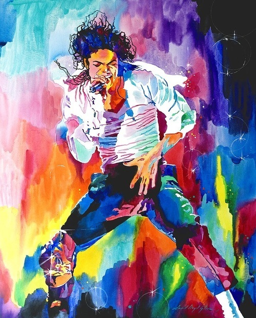 art and michael jackson image