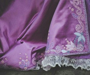 dress, purple, and rapunzel image
