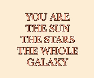quotes, galaxy, and stars image