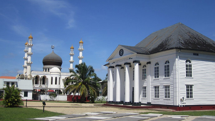 article, suriname, and belief image