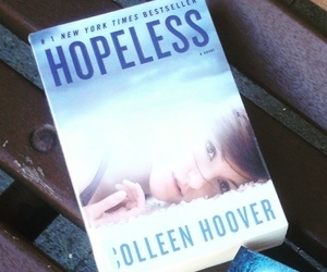 book, hopeless, and new adult image