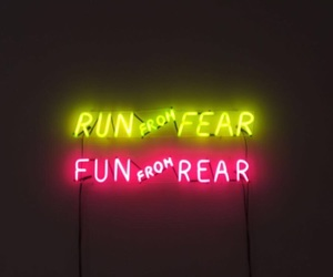 fear, from, and run image