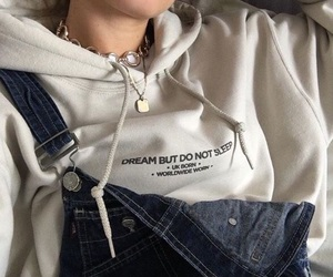 fashion, aesthetic, and hoodie image