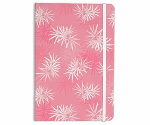 flowers, girly, and notebook image