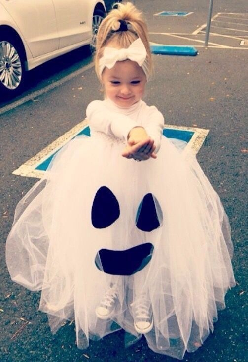 Halloween, ghost, and girl image