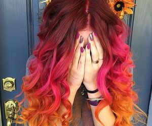 cabelo, colors, and cores image