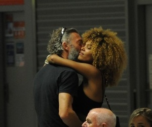 interracial, Vincent Cassel, and celebrity couple image
