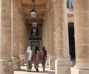 hijab, palais royal, and sisters image