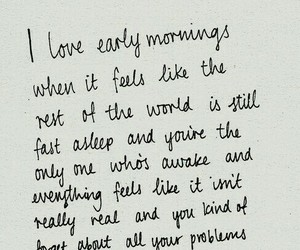 quotes, morning, and sunrise image