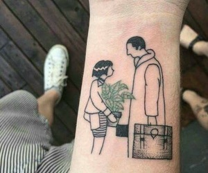 tattoo, plants, and art image