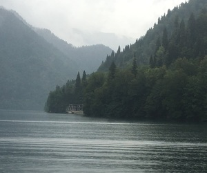 beautiful, fog, and lakes image