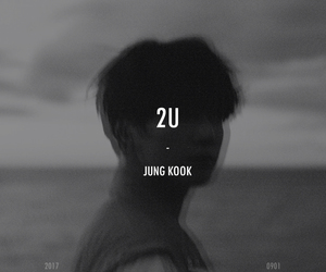 jungkook, bts, and 2u image