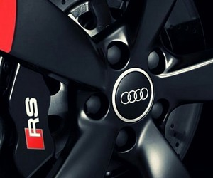 audi, cars, and rims image