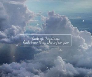 wallpaper, sky, and quotes image