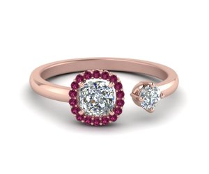 engagement rings, sapphire rings, and wedding rings image