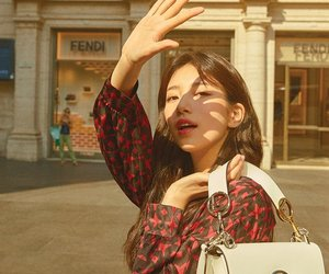 girl, suzy, and JYP image