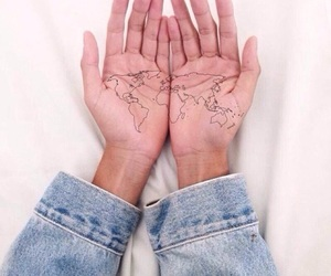europe, hands, and jeans image
