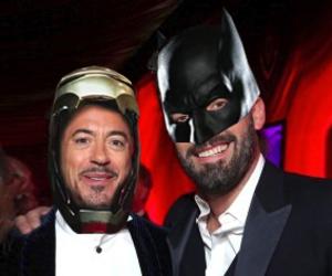 batman, Ben Affleck, and DC image