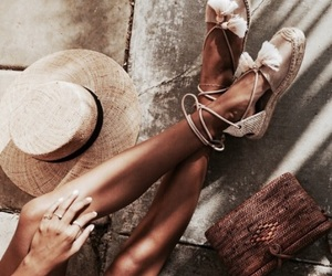 fashion, espadrilles, and summer image