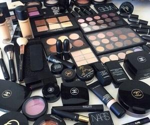 makeup, chanel, and mac image