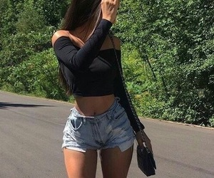 outfit, body, and summer image