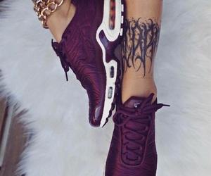 shoes, tattoo, and fashion image