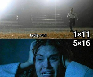 lydia, stydia, and teen wolf image