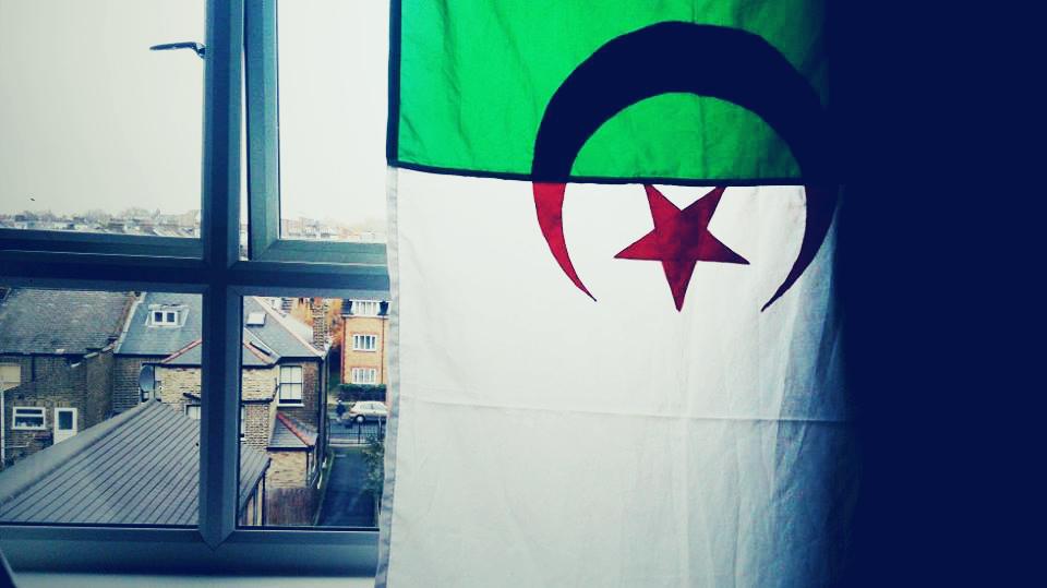 Algeria and flag image