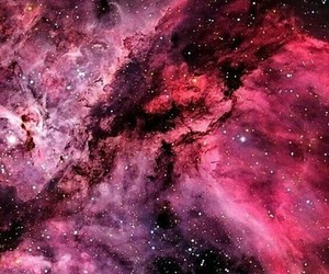 pink, galaxy, and wallpaper image