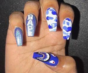 nails, nail designs, and nail art image