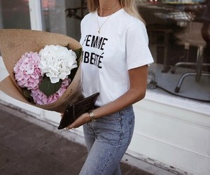 fashion and flowers image