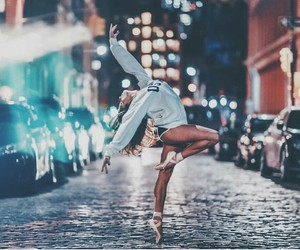 dance, light, and photography image