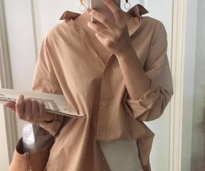 fashion, kfashion, and beige image