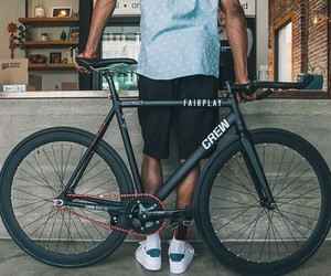 black, cycle, and fixie image