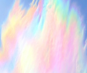 aesthetic, pastel, and rainbow image