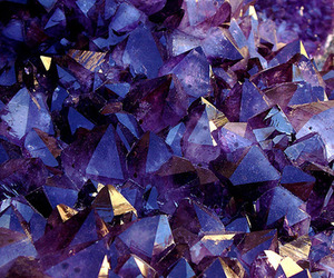 purple, crystal, and amethyst image