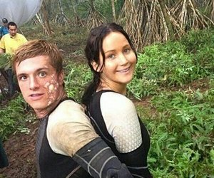 Jennifer Lawrence, josh hutcherson, and katniss everdeen image