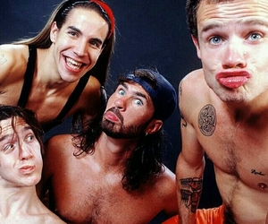 anthony kiedis, flea, and chad smith image