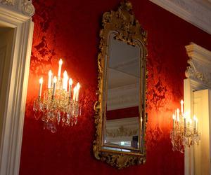 brocade, candelabra, and gilt image