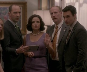 selina meyer, veep, and amy brookheimer image