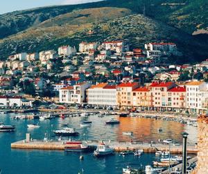 Croatia, sea, and town image