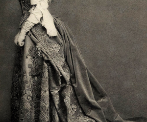 gown, victorian, and dress image